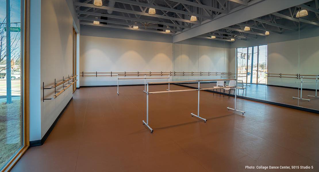 Floor for Dance Studio