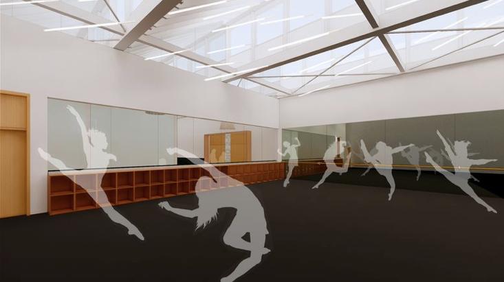 Harlequin Floors Chapman University